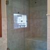 French Door Frameless Enclosure